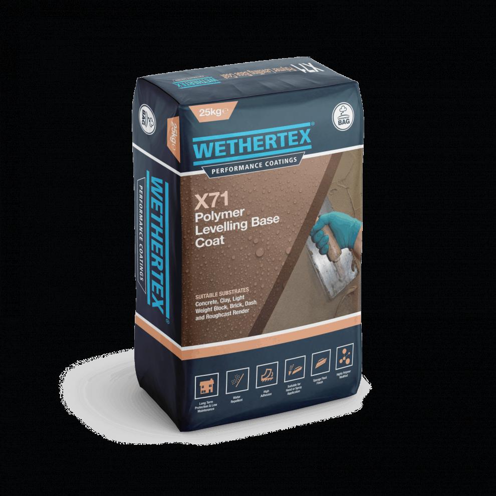 Wethertex X71 polymer render