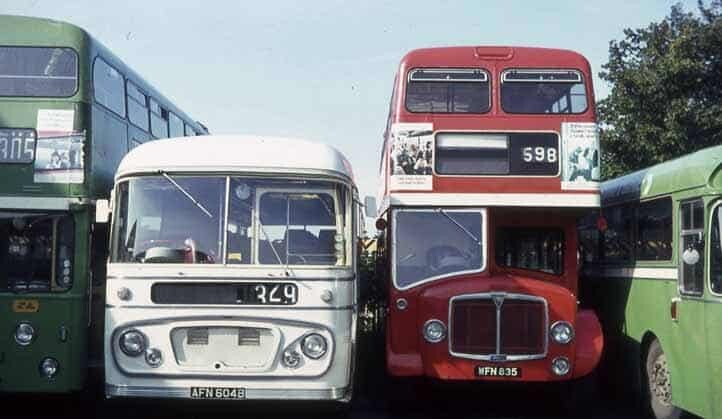 dads old bus formerly owned by east kent buses