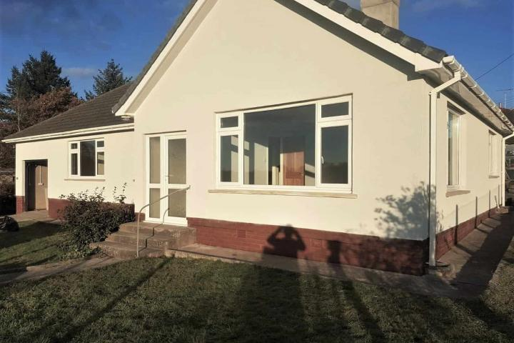 exterior wall coatings completed job in devon