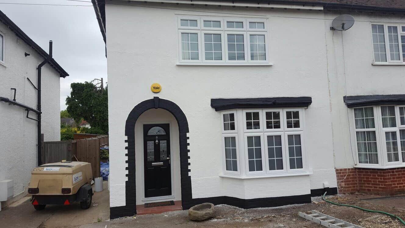 exterior wall coatings surrey