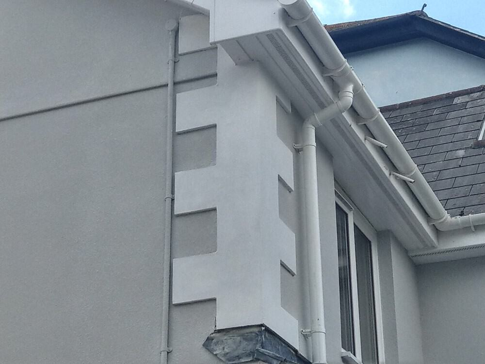 house in Plymouth fitted with decorative mouldings by Never Paint Again