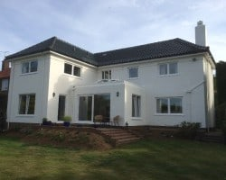 large house in kent freshly painted by NEVER PAINT AGAIN UK