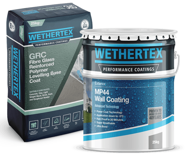 Wethertex masonry coatings
