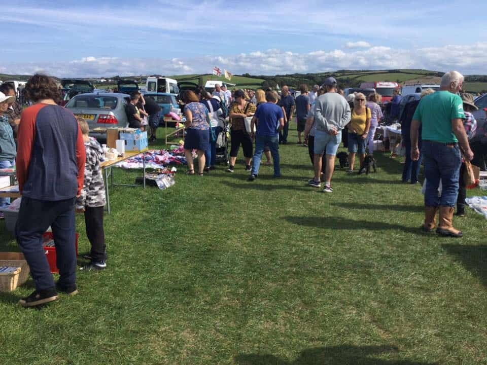 pendeen car boot sale bude cornwall