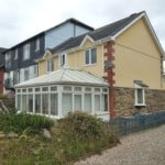 rear of house in plymstock before painting