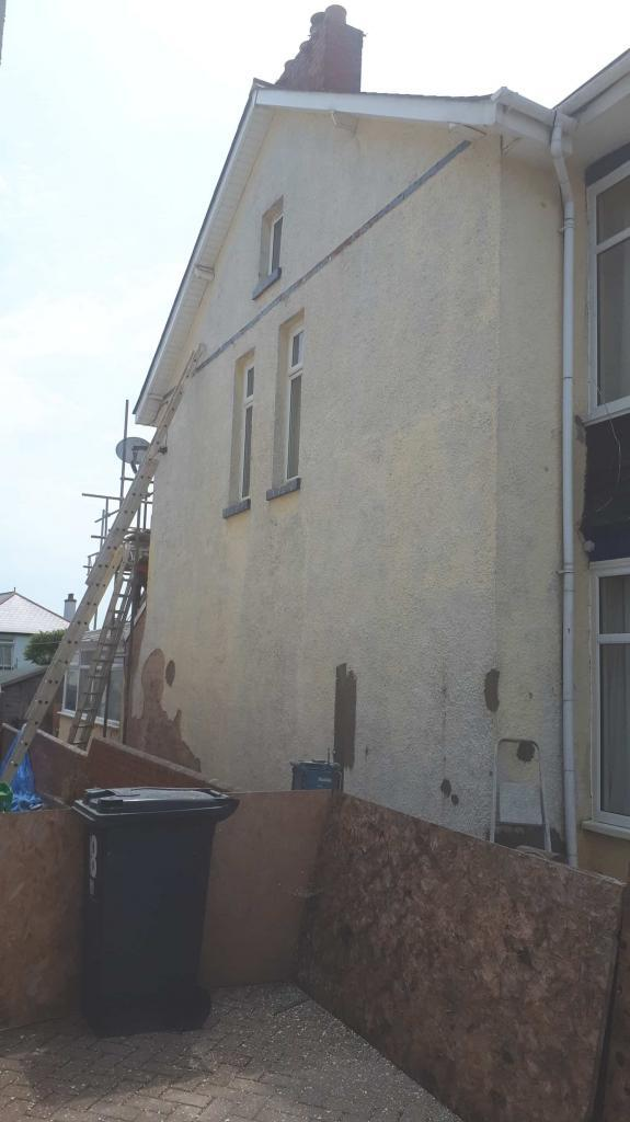 side wall of exmouth during repairs-min
