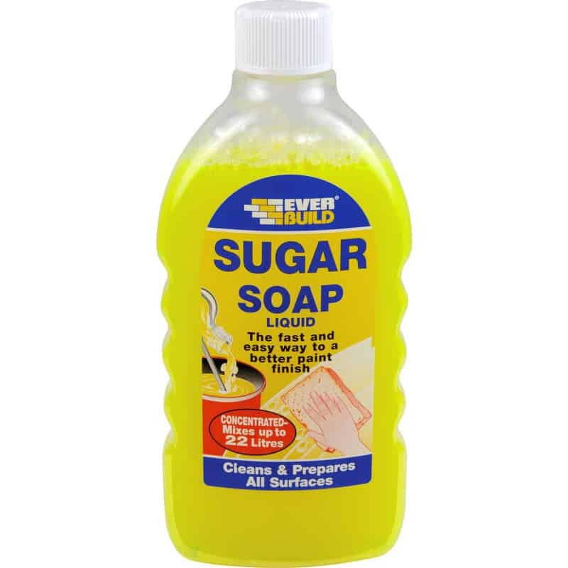 sugar soap for decorating prep work