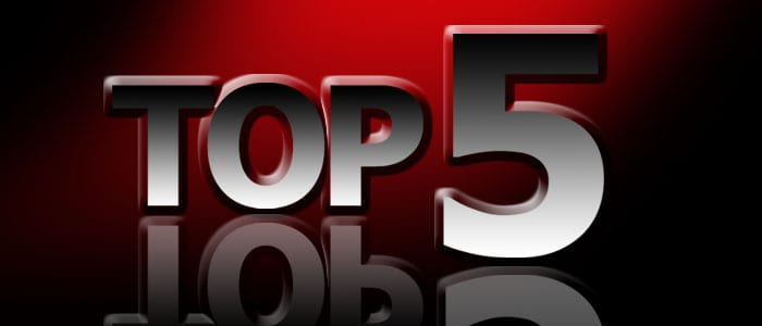 The top 5 things