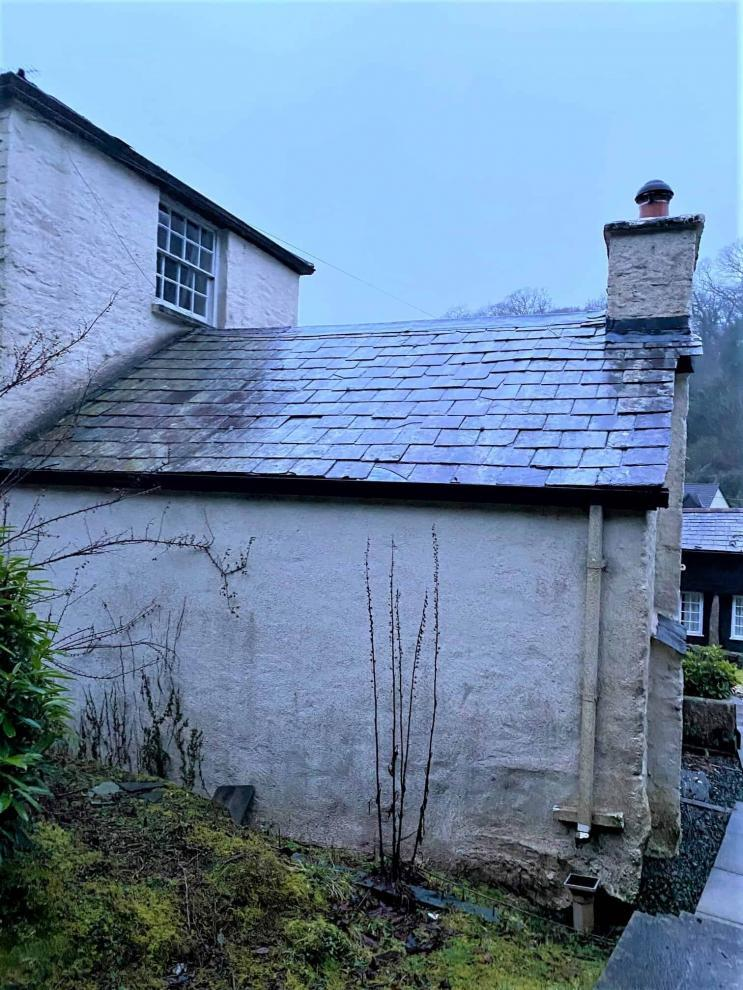 various outbuildings and roofs had to be got over before house painting could begin