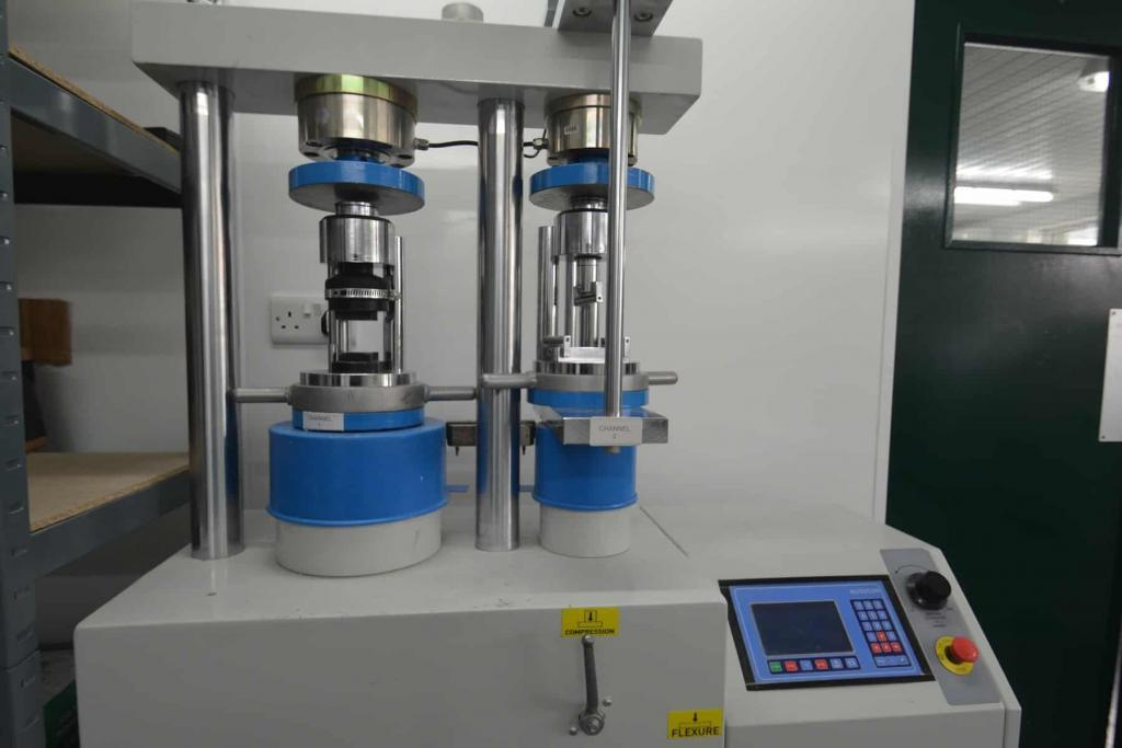 wall coating sample testing machine