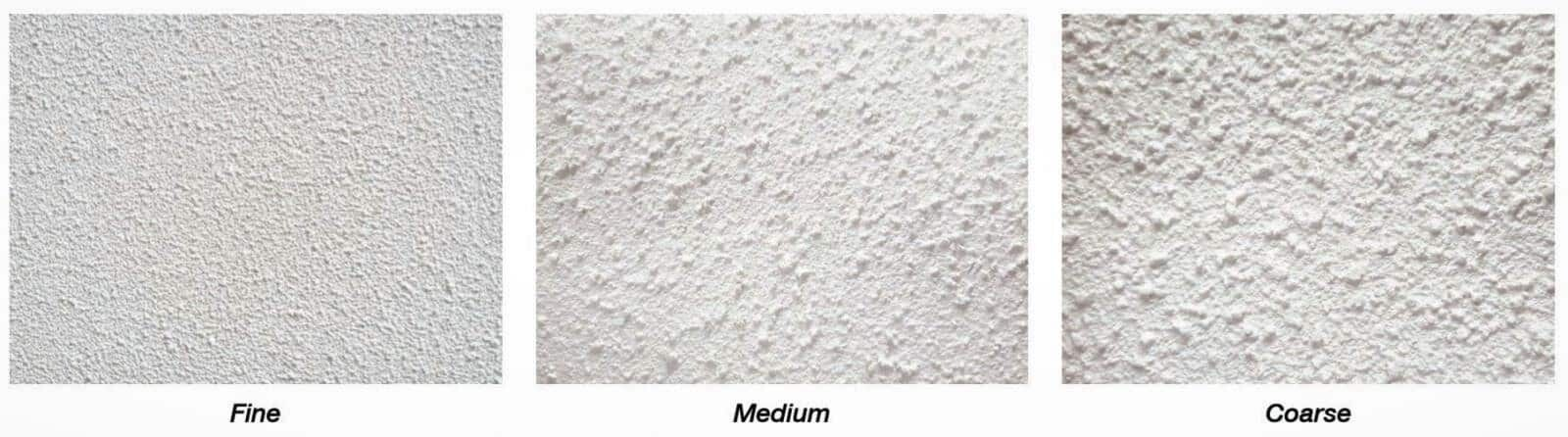 Wethertex wall coatings are available in various grades of texture from fine through to coarse